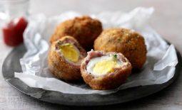 Picnic ideas – Alfresco Chicken Salad and Scotch eggs